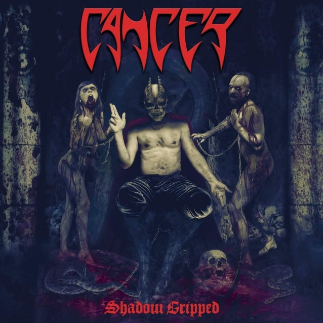 "Cancer released a lyric video for ""Garrotte"""