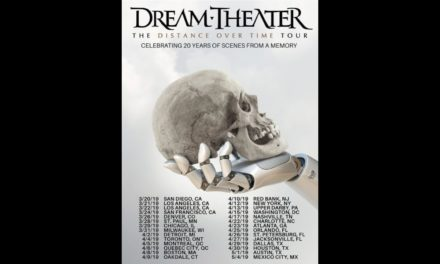 """Dream Theater announced """"The Distance Over Time Tour: Celebrating 20 Years of Scenes From a Memory"""""""