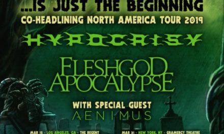 Hypocrisy and Fleshgod Apocalypse announced a tour w/ Aenimus