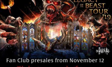 Iron Maiden announced a summer 2019 tour w/ The Raven Age