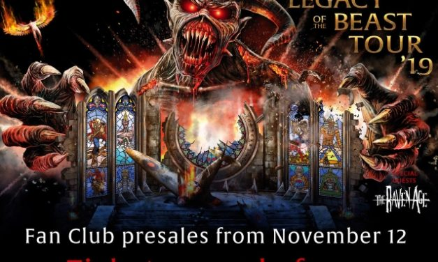Iron Maiden announced a summer 2019 tour w/ The Raven Age