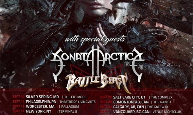 Kamelot announced a 2019 tour w/ Sonata Arctica, and Battle Beast