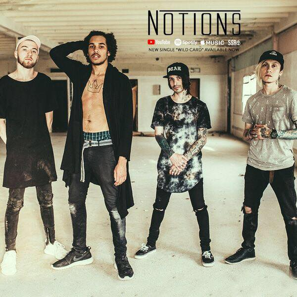 "Notions released a video for ""Outer Haven"" feat. Chris Fronzak"