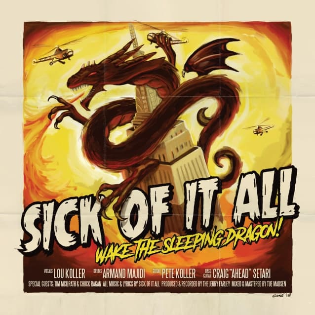 "Sick of it All released a video for ""That Crazy White Boy Shit"", and a lyric video for ""Wake the Sleeping Dragon"""