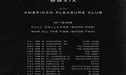 Thursday announced a 20th anniversary tour w/ Vein, and American Pleasure Club