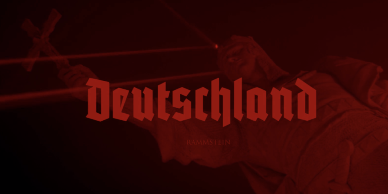 "Rammstein released a video for ""Deutschland"""