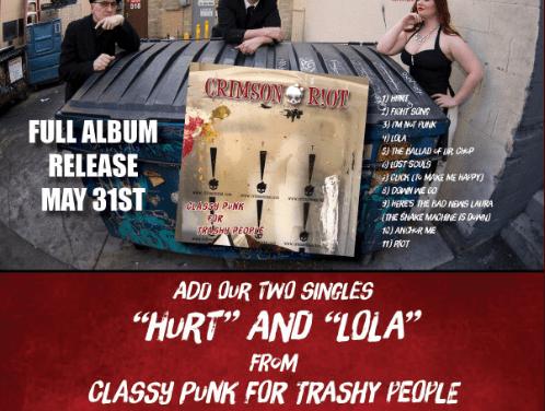 "Crimson Riot – ""Classy Punk for Trashy People"""