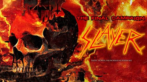 "Slayer announced ""The Final Campaign"" tour, w/ Primus, Ministry, and Phil Anselmo & The Illegals performing Pantera"
