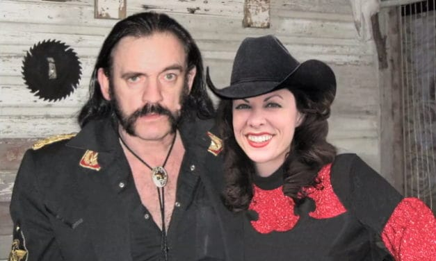 "LYNDA KAY Releases Duet with LEMMY KILMISTER of MOTORHEAD, ""The Mask"""