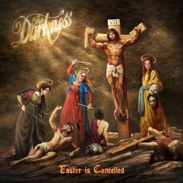"""THE DARKNESS Release Official Lyric Video for """"Heart Explodes"""""""