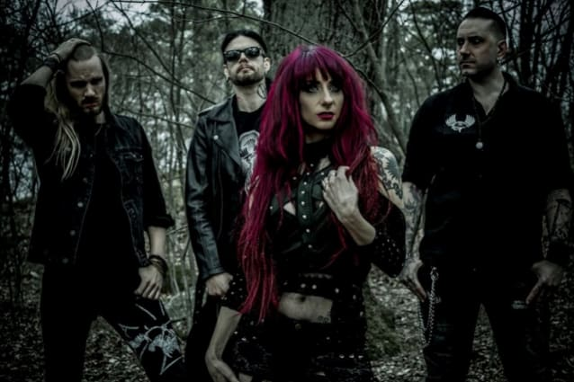 "LIV SIN Release Official Lyric Video for ""Chapter Of The Witch"""
