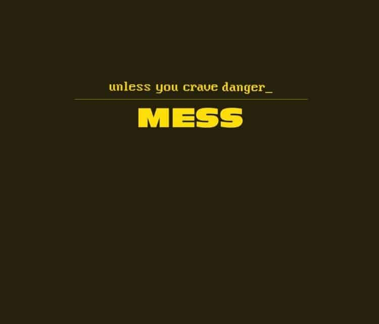 """UNLESS YOU CRAVE DANGER Releases Official Music Video for """"Mess"""""""
