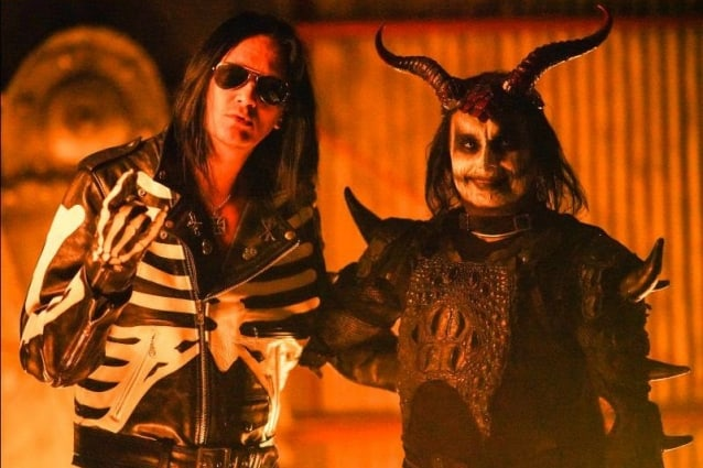 """THE 69 EYES Releases Official Music Video for """"Two Horns Up"""" Feat. Dani Filth of CRADLE OF FILTH"""