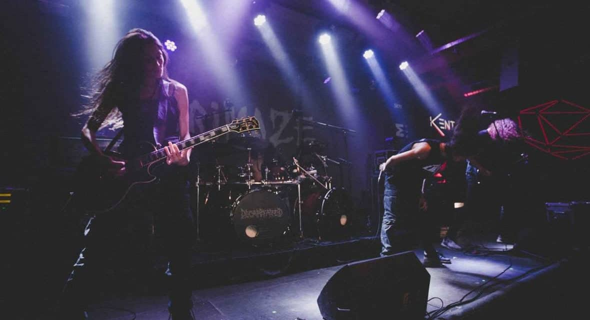 """GRIMAZE Releases Official Music Video for """"Bleeding Earth"""""""