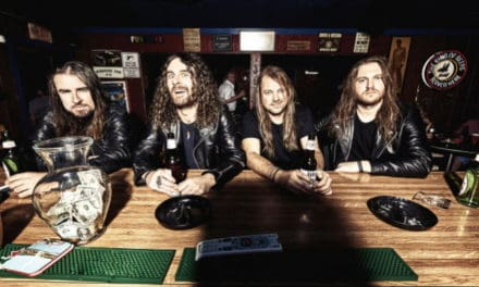 "AIRBOURNE Releases New Song, ""Backseat Boogie"""