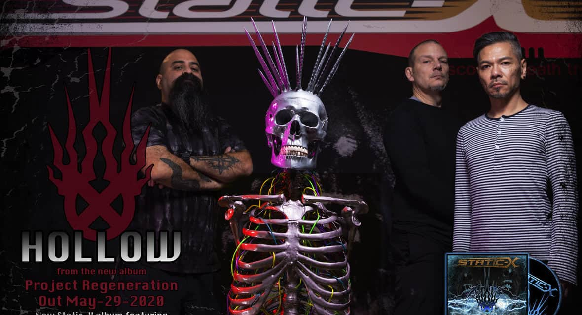 """STATIC-X Releases Official Teaser Video for """"Hollow"""""""
