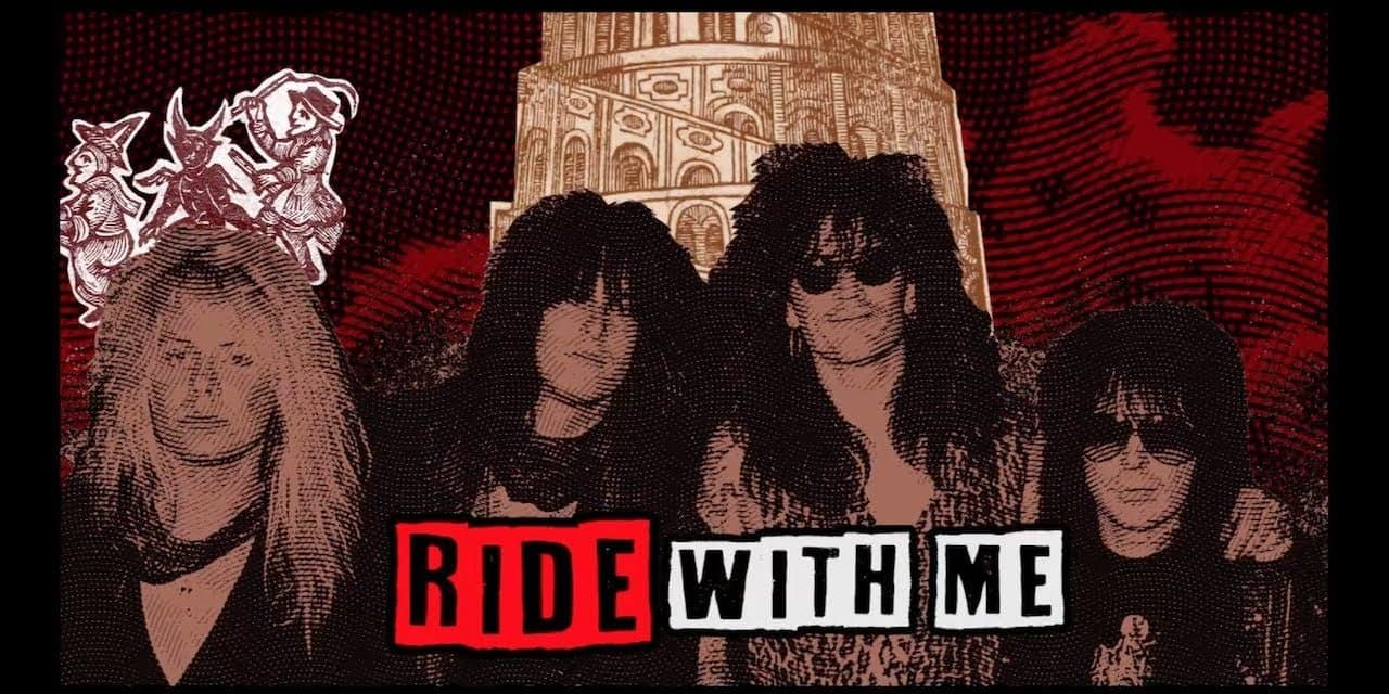 "MOTLEY CRUE Releases Official Lyric Video for ""Ride With The Devil"""