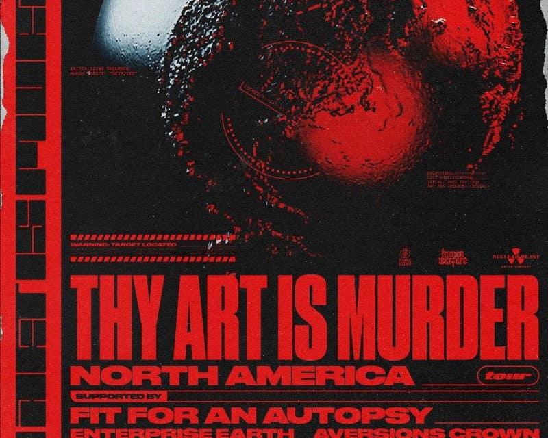 THY ART IS MURDER Announces 2020 Tour Dates