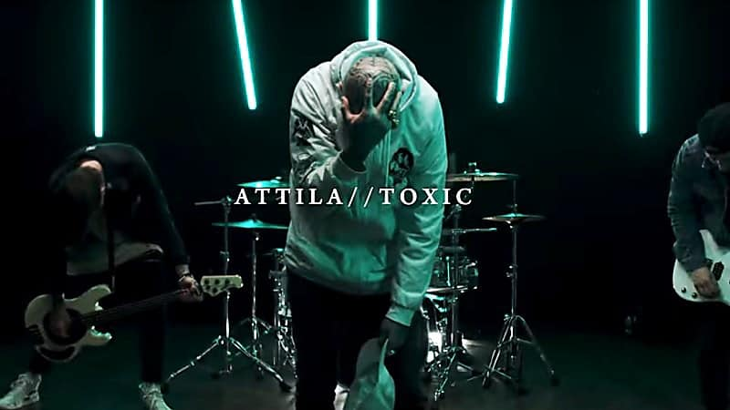 """ATTILA Releases Official Music Video for """"Toxic"""""""