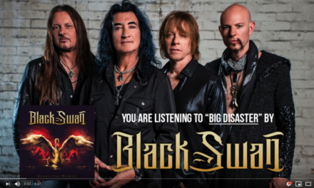 "BLACK SWAN Releases New Song ""Black Disaster"""