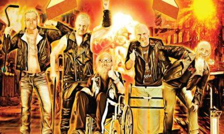 "BRAIN POSEHN Announces First Comedy/Metal Album ""Grandpa Metal"""