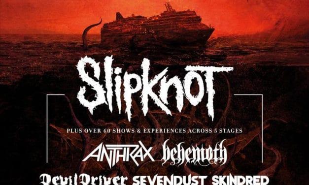 SLIPKNOT Announces KNOTFEST AT SEA Line-Up