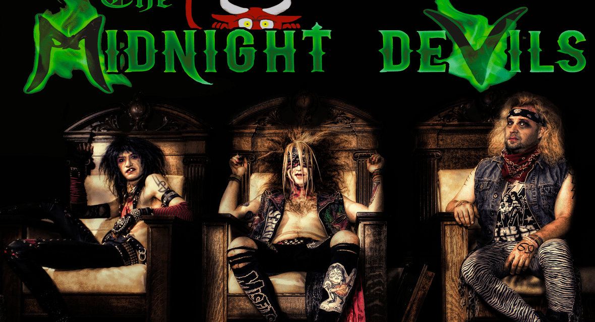 """THE MIDNIGHT DEVILS Releases Official Music Video for """"Pink Halo"""""""