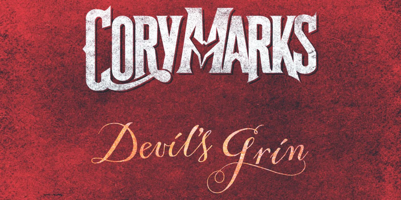 """CORY MARKS Releses Official Lyric Video for """"Devil's Grin"""""""