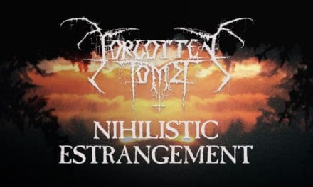 "FORGOTTEN TOMB Releases New Song ""Nihilistic Estrangement"""
