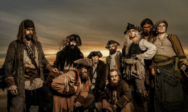 "YE BANISHED PRIVATEERS Releases Official Music Video for ""No Metal, No Pay"" feat. Kris Olivius of Naglfar"