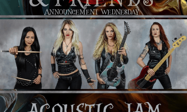 "BURNING WITCHES Announces ""Corona Live Acoustic Jam From The Studio"""