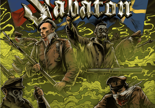 "SABATON Releases Live Version of ""The Attack Of The Dead Men"" Featuring RADIO TAPOK"