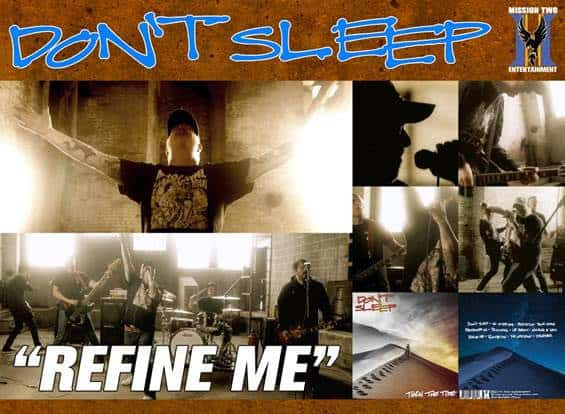 "DON'T SLEEP Releases Official Music Video for ""Refine Me"""