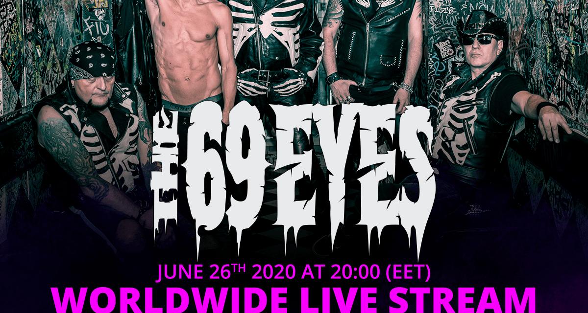 THE 69 EYES Announces Worldwide Live Stream!