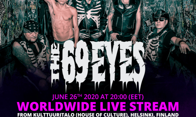 THE 69 EYES Announces Worldwide Live Stream!