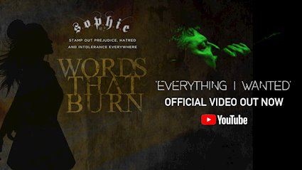 "WORDS THAT BURN Releases Official Music Video for BILLIE EILISH Cover ""Everything I Wanted"